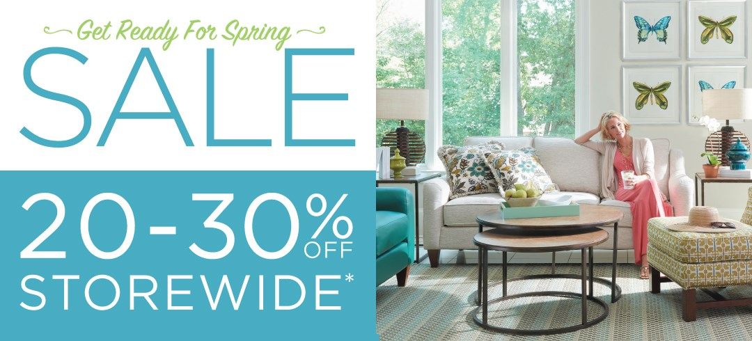 Get Ready for Spring Sale