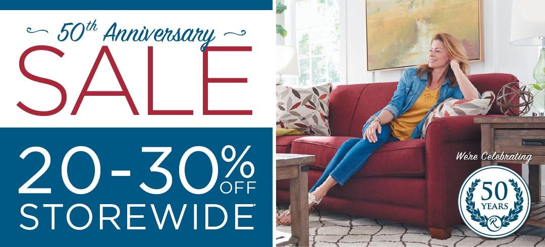 50th Anniversary Sale