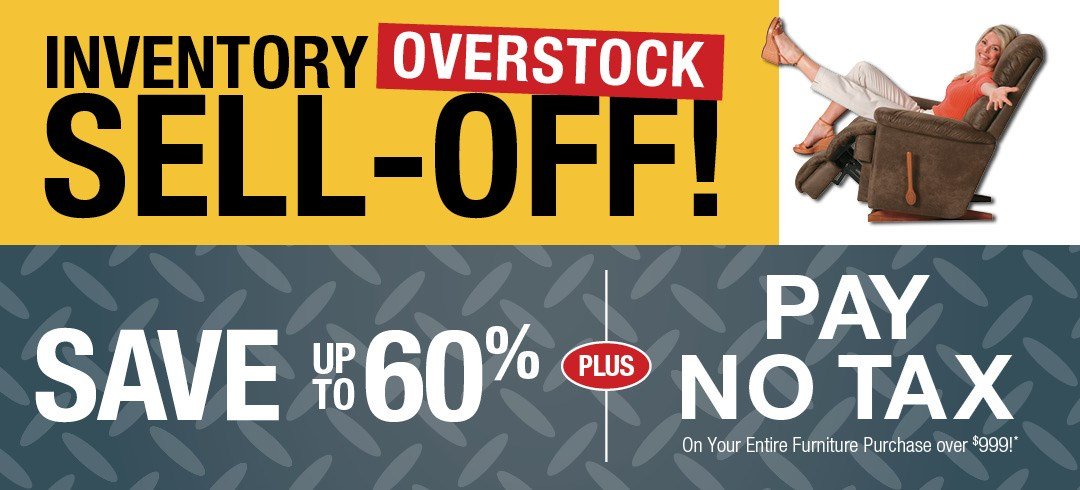 Inventory Overstock Sell-Off!