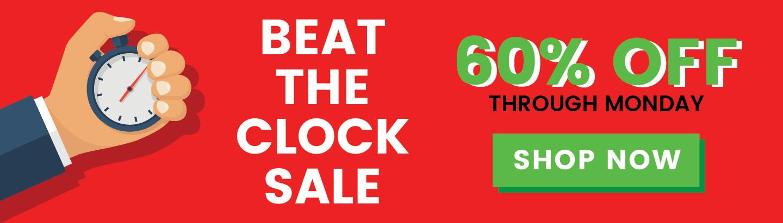 Beat the Clock Sale