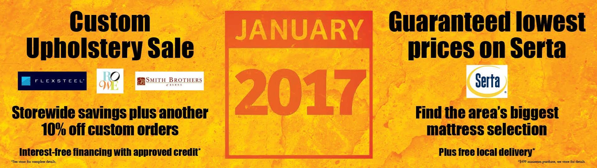 January, Deals, Furniture, Mattress, Upholstery