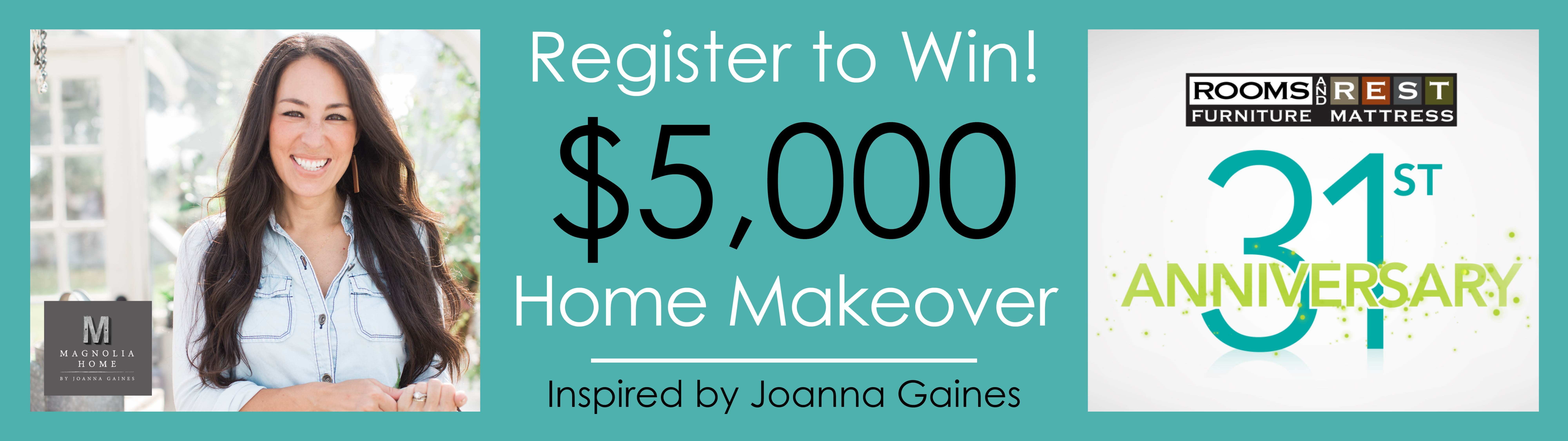 Giveaway, Makeover, Furniture, Magnolia, Joanna Gaines, Rooms and Rest
