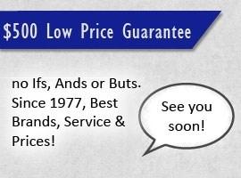$500 Low Price