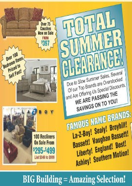 Total Summer Clearance
