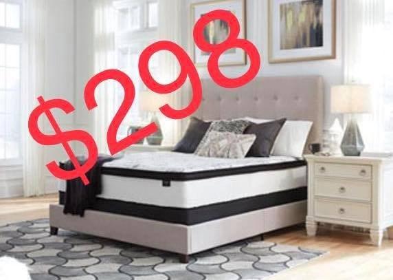 Queen Hybrid Mattress for $298