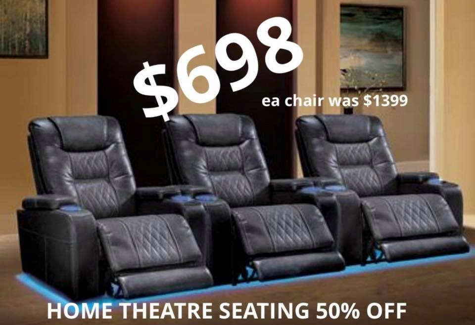 Theater Chairs starting at $698/per chair