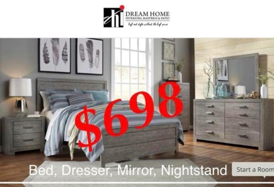 Bedroom Set $698