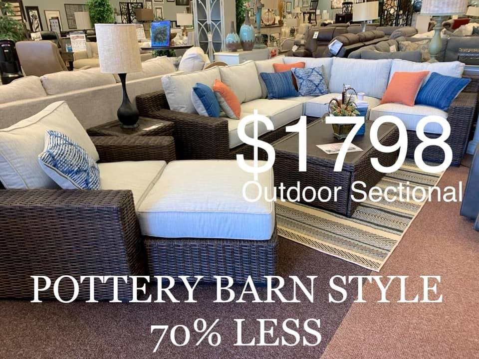 outdoor sectional $1798