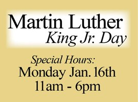 Martin Luther King Jr. Day Sale!