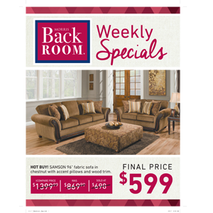 Furniture Deals Discounts Morris Home Furnishings Back Room