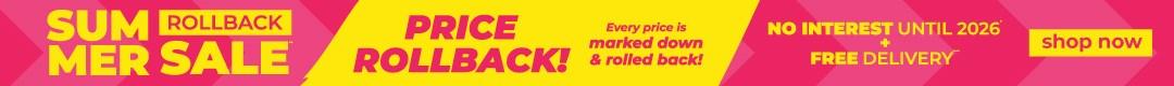 Summer Rollback Sale