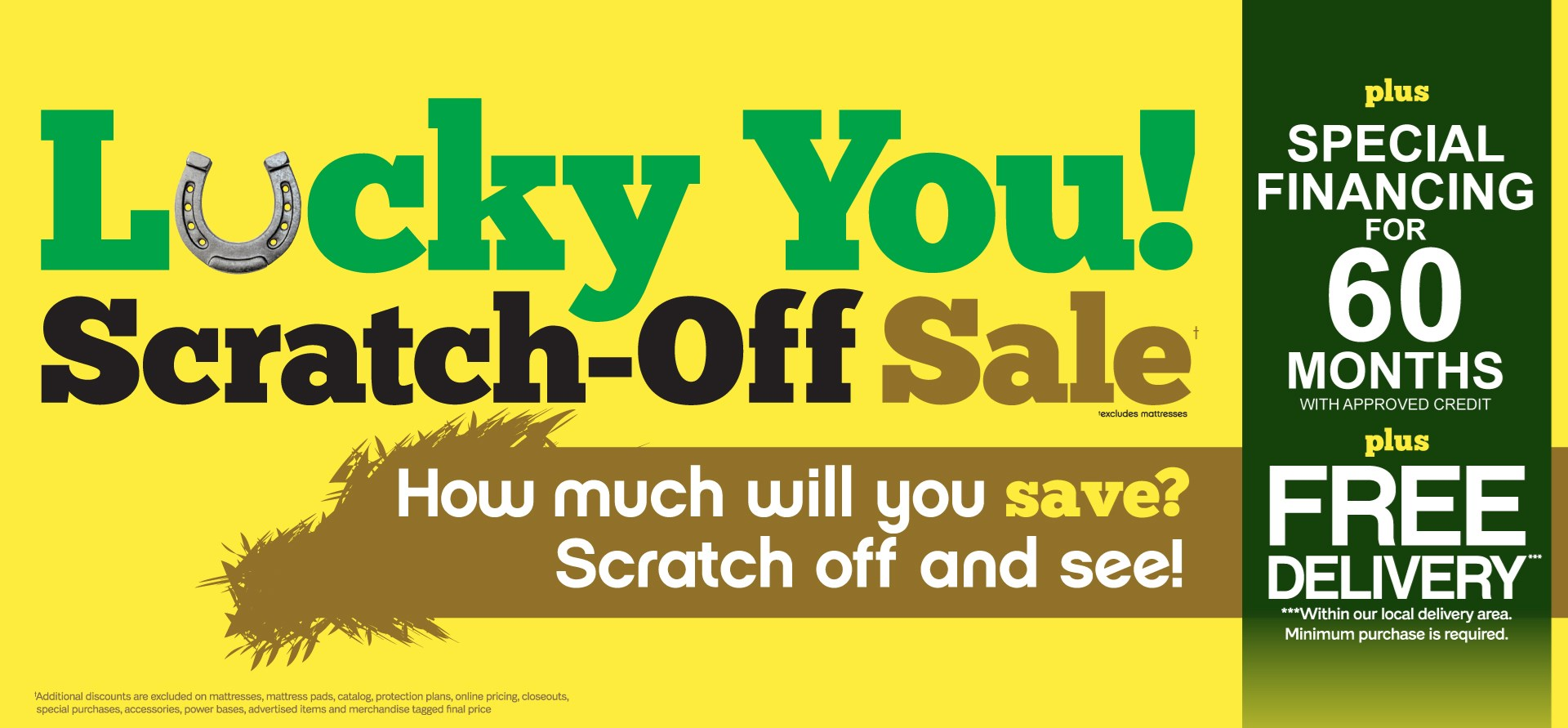Lucky you scratch off sale