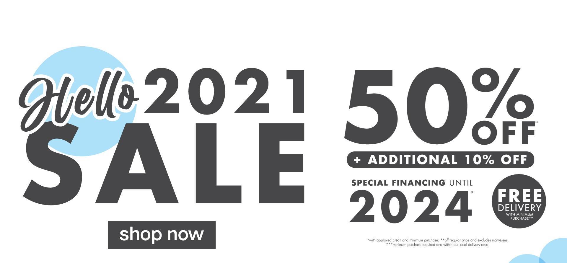 Hello 2021 Sale