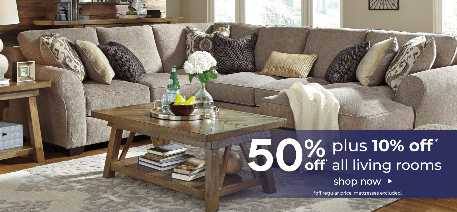 Living Rooms at VC Furniture