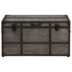Industrial metal chest