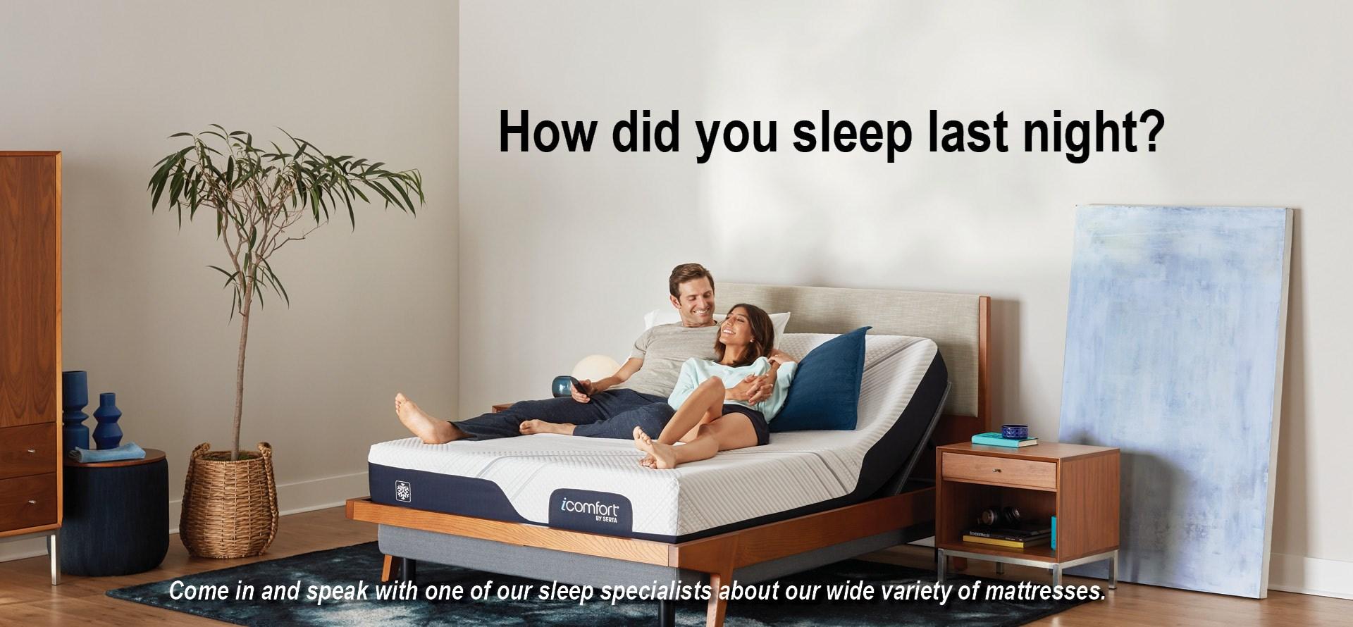 How Did You Sleep?