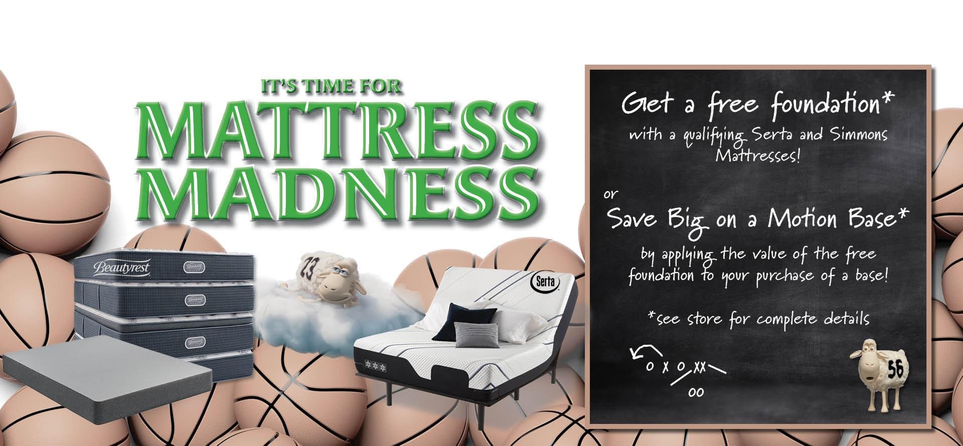 mattress madness 2021