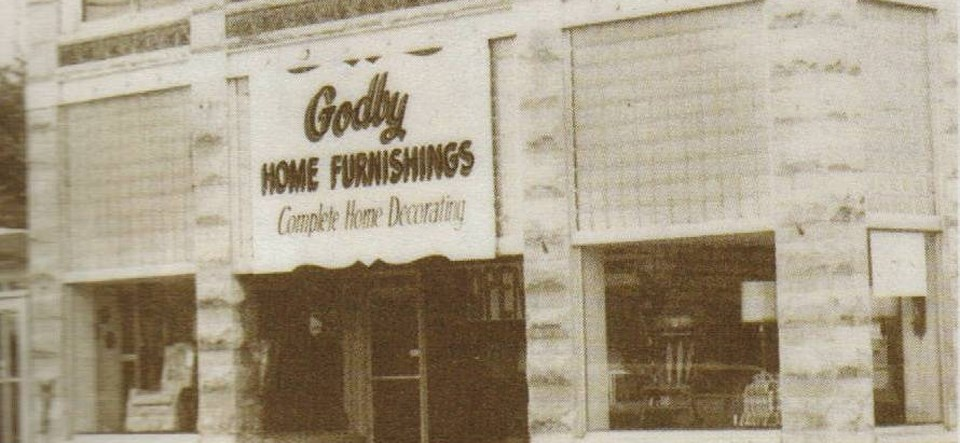 Godby Home Furnishings in 1974