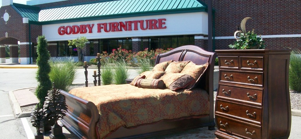 American Made Furniture Display Outside
