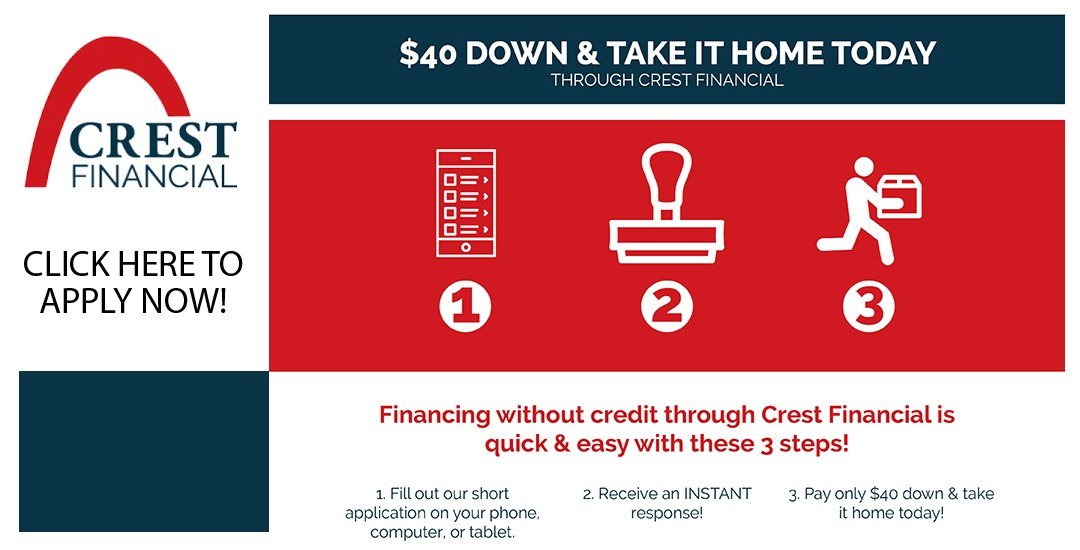 Apply for crest financing