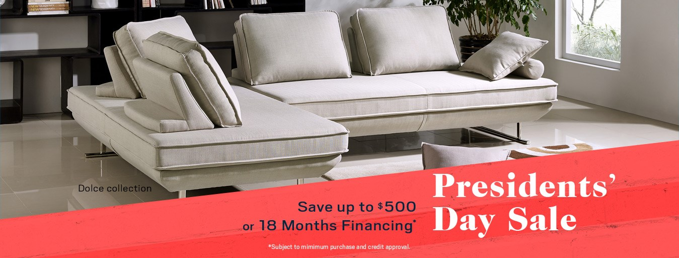 Presidents' Day sale; special financing available. See store for details.