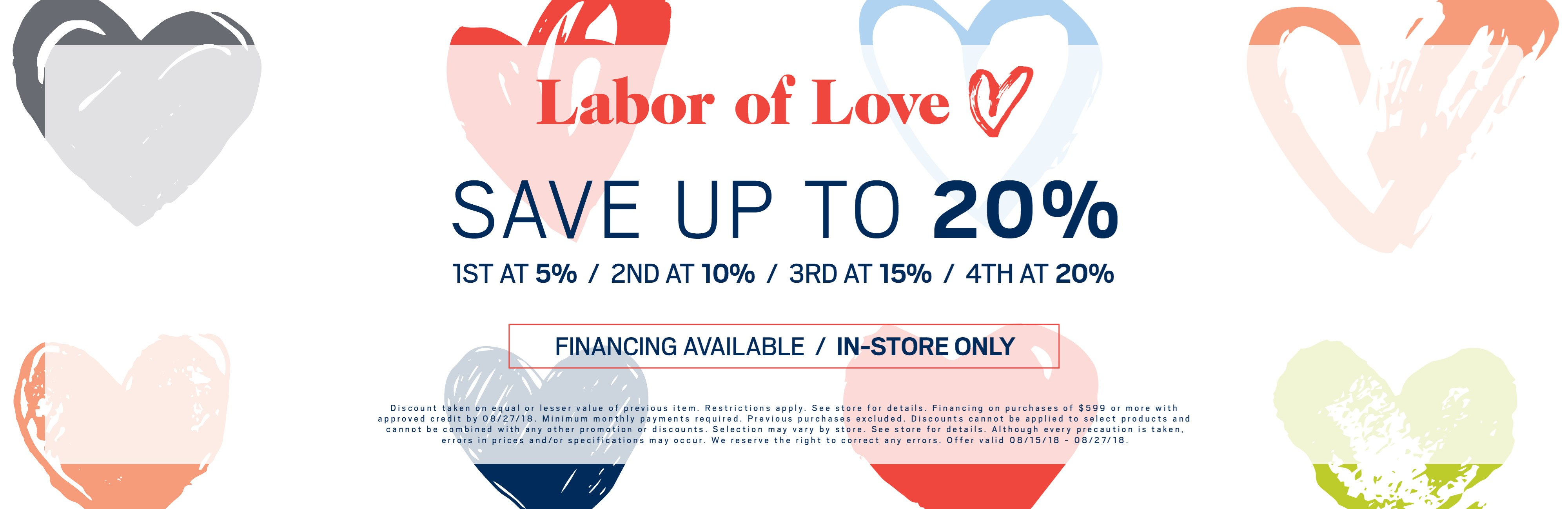 Save Up To 20%; Financing Available. See Store For Details.