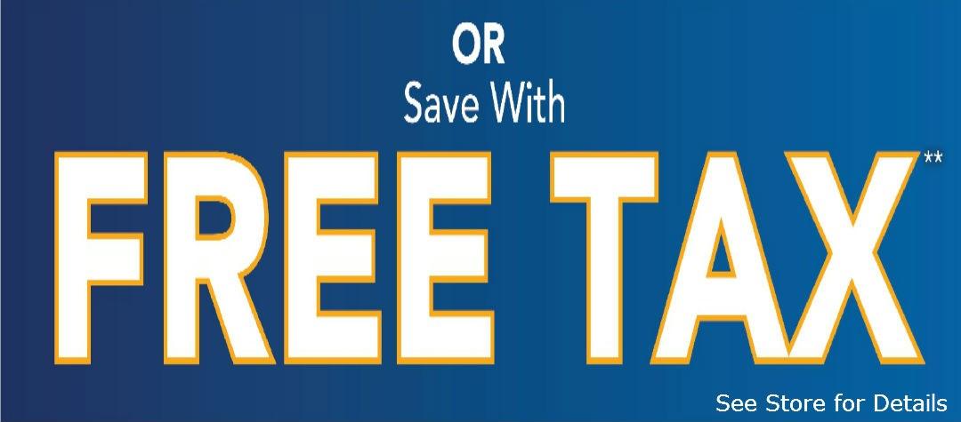 or Free Sales Tax
