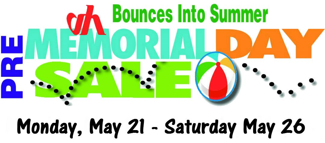 Bounce Into Summer Pre-Memorial Day Sale!