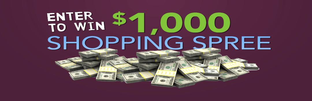 3 Day Sale. Win $1,000 Shopping Spree