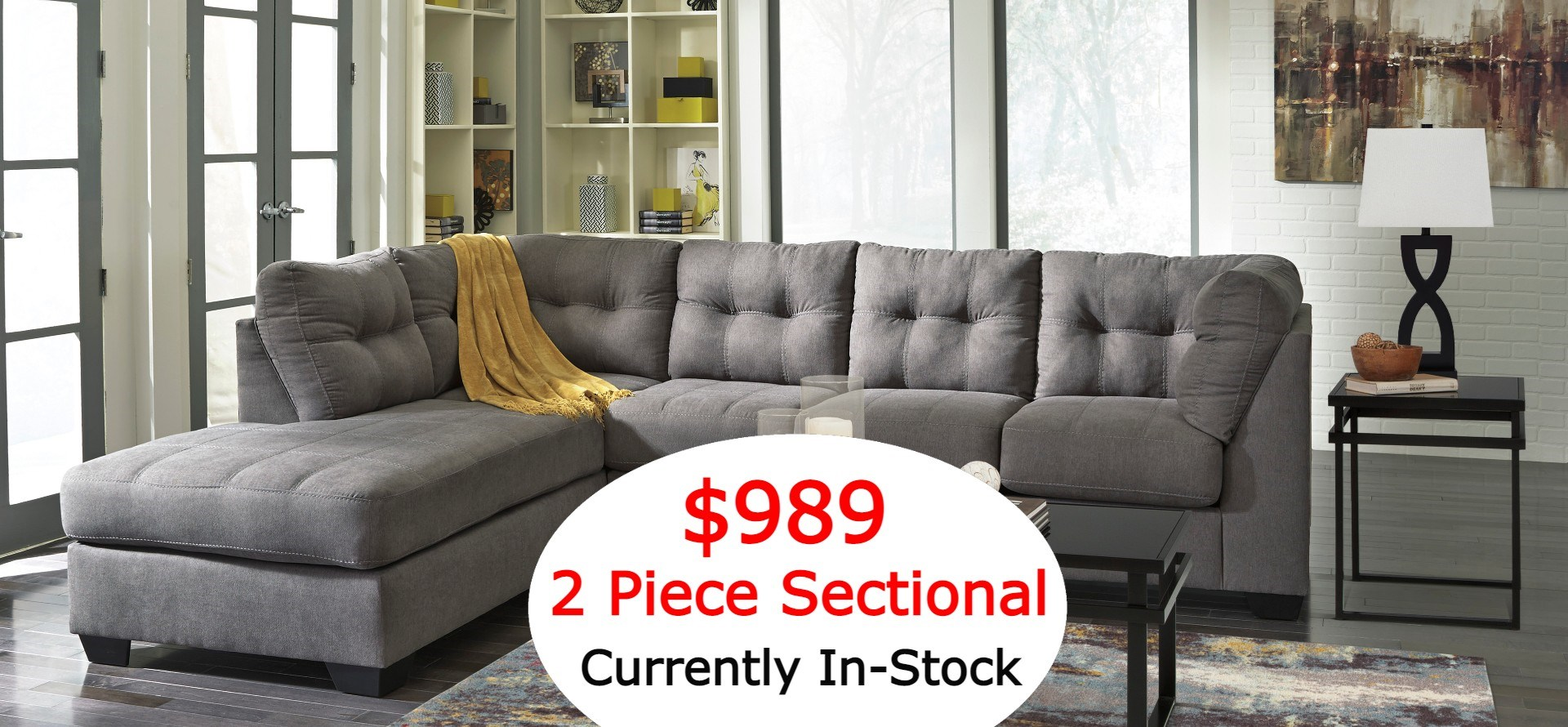 in-stock sectional