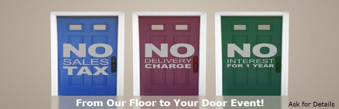 Floor to Door Sales Event!