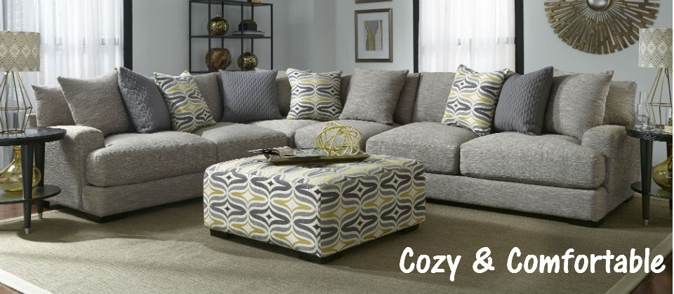 Cozy & Comfortable Sectional