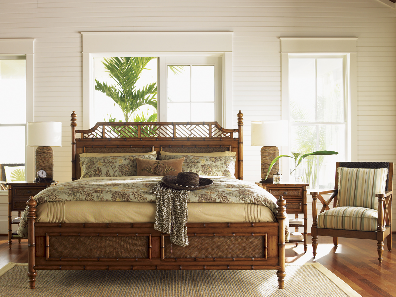 Tropical Styled Bed