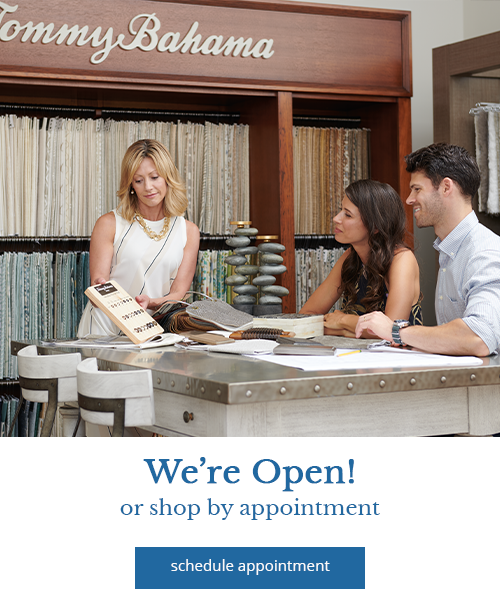 we're open! or shop by appointment