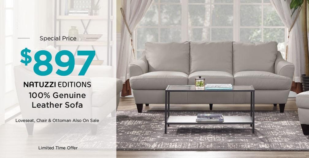 $897 sofa