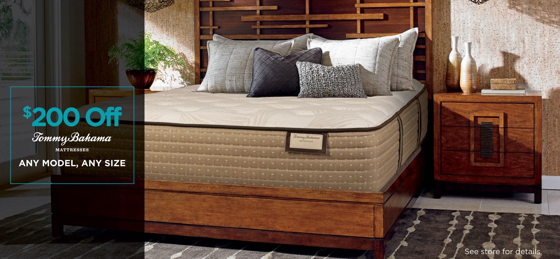 $200 off Tommy mattress