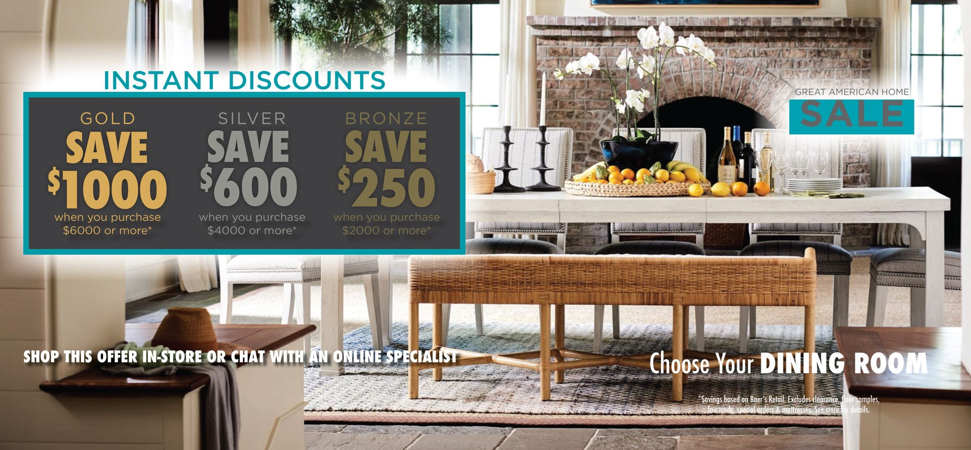 Great American Home Sale - Dining