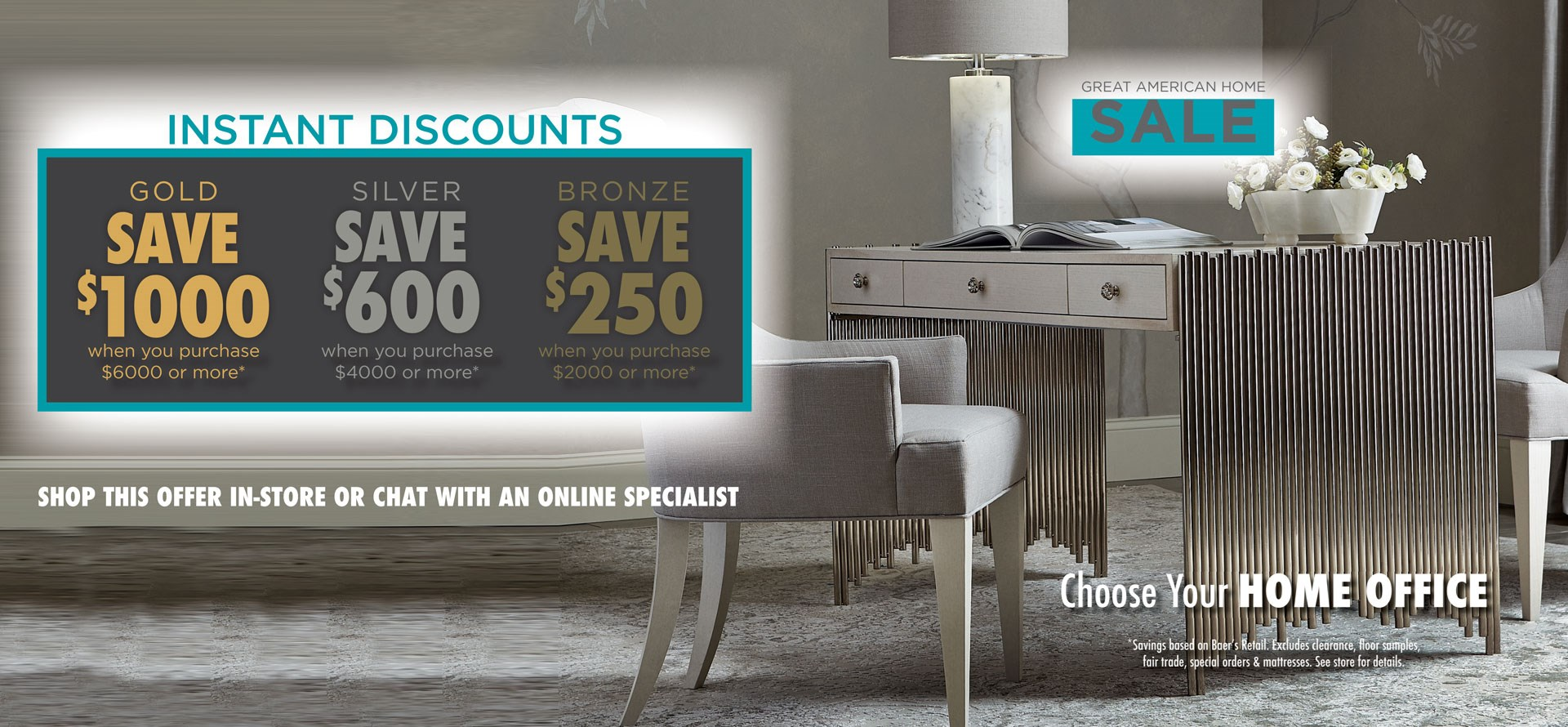 Great American Home Sale - Home Office