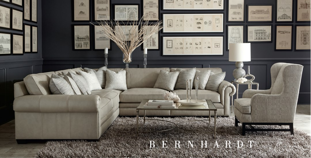 Baylor Sofa Sectional for Sale with Chaise and Sleeper in Miami Fl