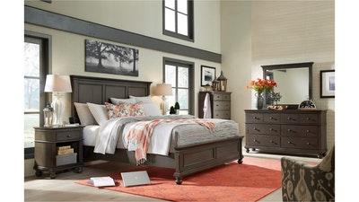 Paneled Bed