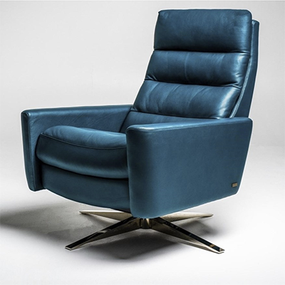 American Leather Cirrus Large Pushback Chair
