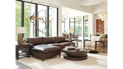 Barclay Butera Leather Sectional