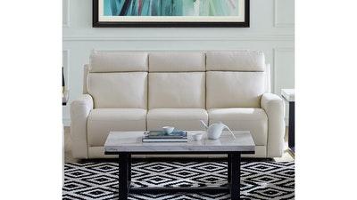 Natuzzi Editions Benevolo Leather Power Reclining Sofa