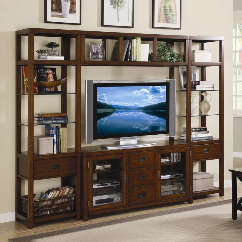 Open Entertainment Wall Unit