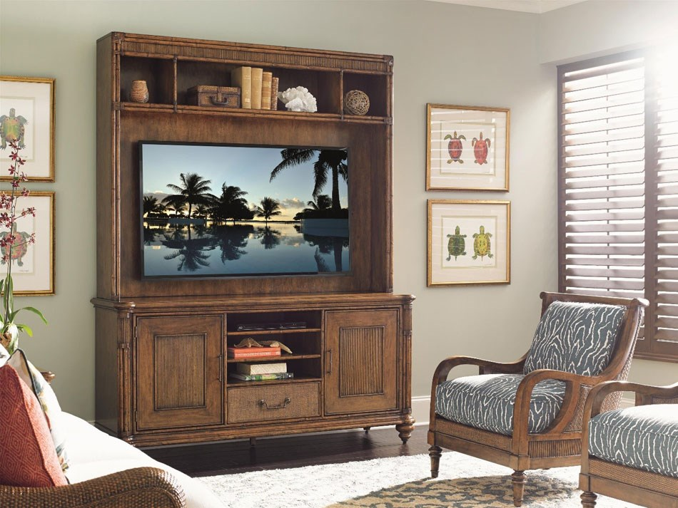 Tropical Style Entertainment Center