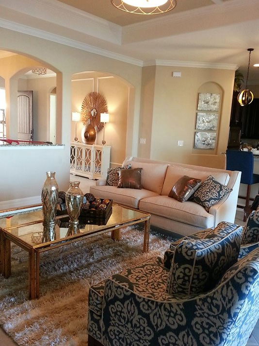 Contemporary Mid Century Modern Living Room