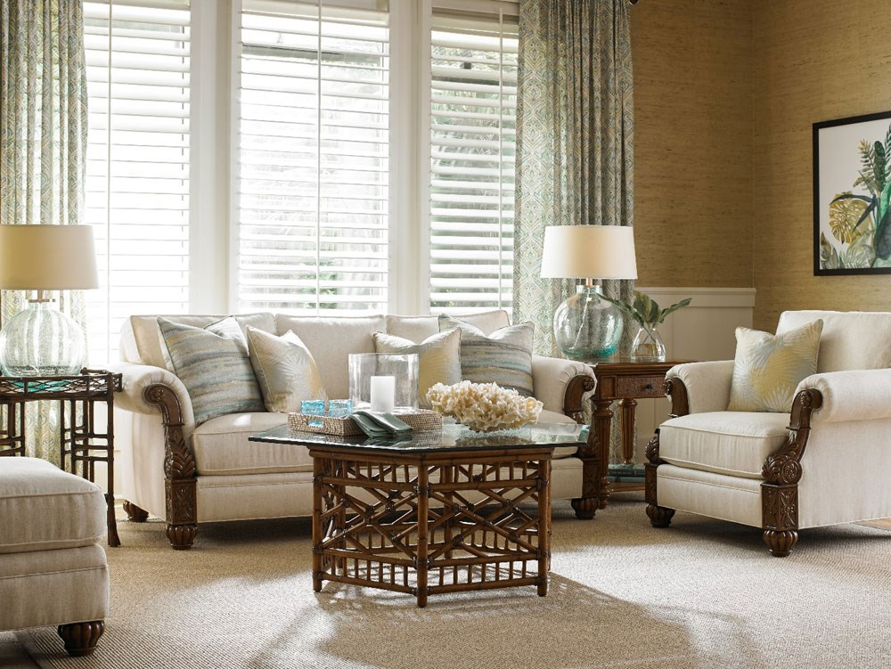 Tommy Bahama Tropical Living Room