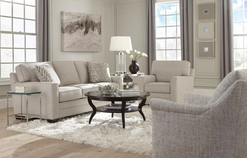 Transitional Style Living Room Furniture A96