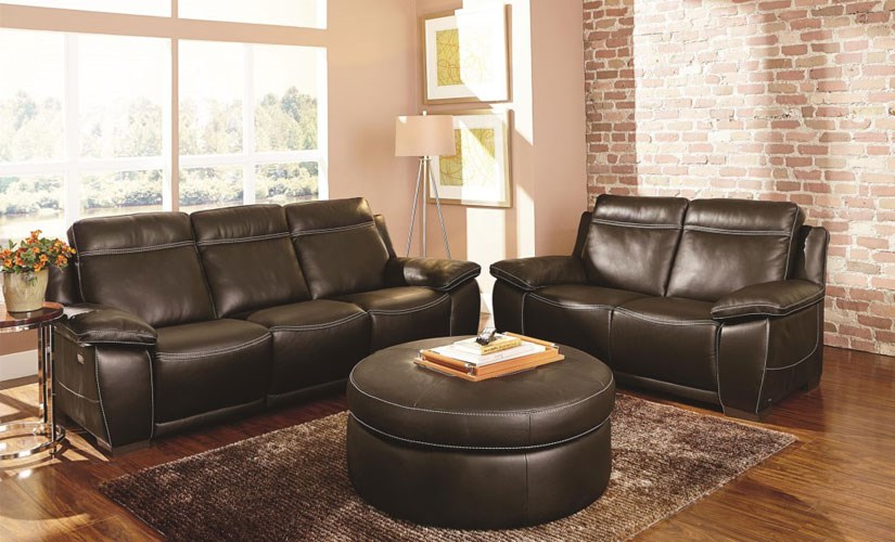 Interior Design to Highlight Your High-End Leather Sofa | Baer\'s ...