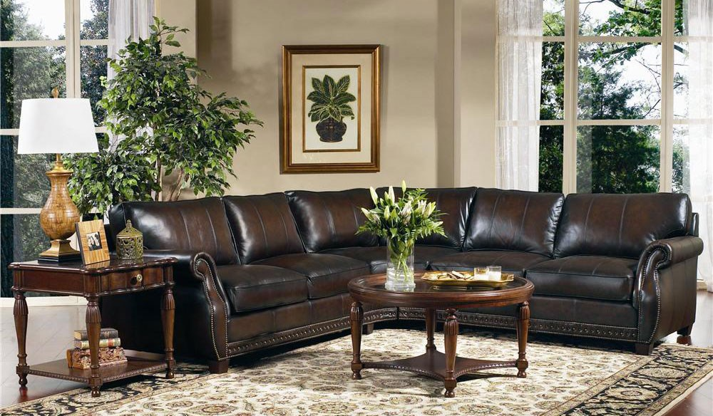 Interior Design To Highlight Your High End Leather Sofa Baer S